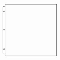 We R Memory Keepers 12x12 Ring Page Protectors 50 pack