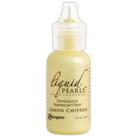 Ranger Liquid Pearls Dimensional Pearlescent Paint .5oz-lemon Chiffon