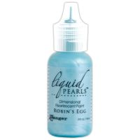 Ranger Liquid Pearls Dimensional Pearlescent Paint .5oz-robin's Egg