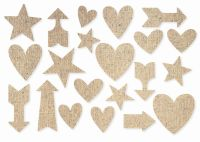 Simple Stories DIY - Burlap Stickers - Arrows