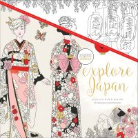 KaiserCraft Kaisercolour Perfect Bound Coloring Book - Explore Japan