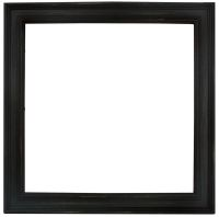 Prima Marketing Antique Black 12x12 Wood Frame
