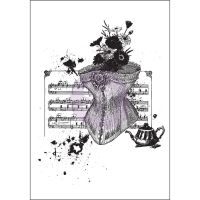 Prima Marketing Mixed Media Cling Stamp - Treasured Memories 1