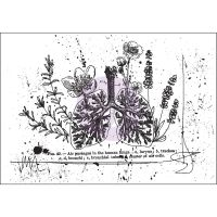 Prima Marketing Mixed Media Cling Stamp - Treasured Memories 7