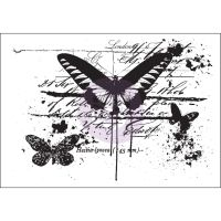 Prima Marketing Mixed Media Cling Stamp - Treasured Memories 11