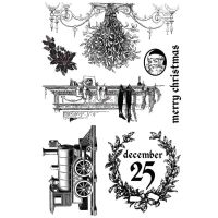Prima Marketing Cling Stamp - A Victorian Christmas