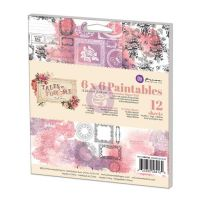 Prima Marketing 6x6 Paintable Pad - Tales of You & Me