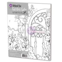 Prima Marketing Sandi Pirrelli Coloring Book - Behind The Garden Gate