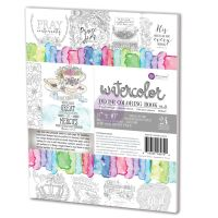 Prima Marketing Watercolor Decor Vol. 3 Faith Based Coloring Book