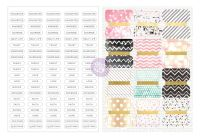 Prima Marketing Love Faith Scrap - Divider Tabs