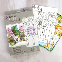 Prima Marketing Sandi Pirrelli Watercolor Card Kit