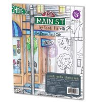 Prima Marketing Sandi Pirrelli Coloring Book - Main Street
