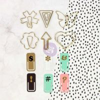 Prima Marketing My Prima Planner Embellishments - Variety Paper Clips
