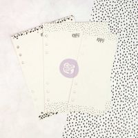 Prima Marketing My Prima Planner Embellishments - Dry Erase Boards - Black N White