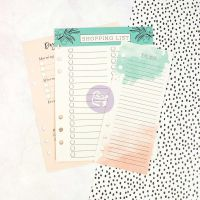 Prima Marketing My Prima Planner Embellishments - Dry Erase Boards - Colorful