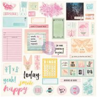 Prima Marketing Prima Traveler's Journal Embellishments - Ephemera And Stickers - Sweet Notes