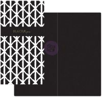 Prima Marketing Prima Traveler's Journal  - Notebook Refill - Black Paper