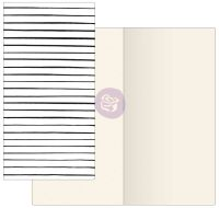 Prima Marketing Prima Traveler's Journal  - Notebook Refill - Modern Lines