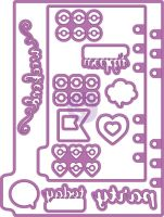 Prima Marketing My Prima Planner Metal Dies - Shapes 3