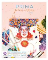 Prima Marketing Prima Princesses Coloring Book 2