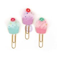 Prima Marketing My Prima Planner Clips - Cupcakes