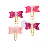 Prima Marketing My Prima Planner Clips - Hot Punk Blush