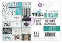 Prima Marketing Zella Teal - 4x6 Journaling Cards