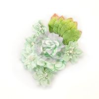 Prima Marketing Santa Baby Flowers - Frosted Mint