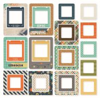 Simple Stories So Rad Chipboard Frames