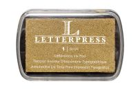We R Memory Keepers Letterpress Ink Pads - Gold