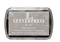 We R Memory Keepers Letterpress Ink Pads - Silver