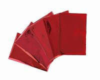 We R Memory Keepers Heatwave Foil - 4 x 6 - Red (30 Piece)