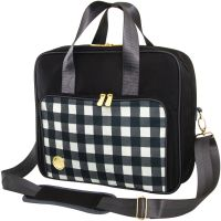 We R Memory Keepers Shoulder Bag - Black Plaid