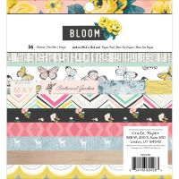 American Crafts Maggie Holmes Bloom 6x6 Paper Pad