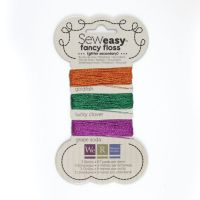 We R Memory Keepers Sew Easy Fancy Floss - Glitter - Secondary