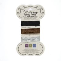 We R Memory Keepers Sew Easy Fancy Floss - Glitter - Neutrals