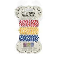 We R Memory Keepers Sew Easy Fancy Floss - Bakers Twine - Primary