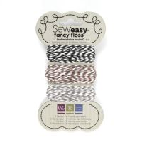We R Memory Keepers Sew Easy Fancy Floss - Bakers Twine - Neutrals