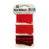 We R Memory Keepers Sew Ribbon - Crimson