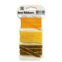 We R Memory Keepers Sew Ribbon - Gold