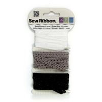 We R Memory Keepers Sew Ribbon - Black