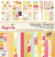 Simple Stories Sunshine and Happiness Collection Kit