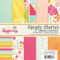 Simple Stories Sunshine and Happiness 6x6 pad