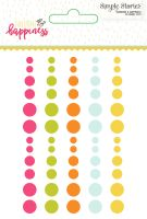 Simple Stories Sunshine and Happiness Enamel Dots