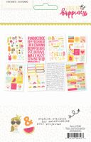 Simple Stories Sunshine and Happiness Stickers