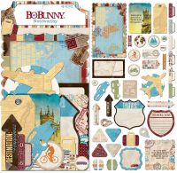 Bo Bunny World Traveler - Noteworthy (43 pieces)