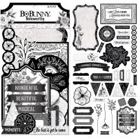 Bo Bunny Black Tie Affair - Noteworthy - (36 pieces)