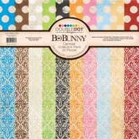 Bo Bunny Double Dot Damask 12x12 Pack