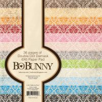 Bo Bunny Double Dot Damask 6x6 Pad