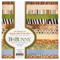 Bo Bunny Jungle Life - 6x6  Paper Pad- 36 Sheets